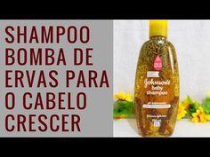 BELEZA EM AÇÃO: Shampoo BOMBA de Ervas para CRESCIMENTO Capilar