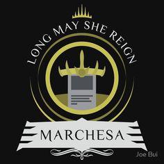Commander Marchesa #mtg #shirt #design #humor #funny #witty #redbubble #magicthegathering #epicupgrades #magic #marchesa #edh #commander
