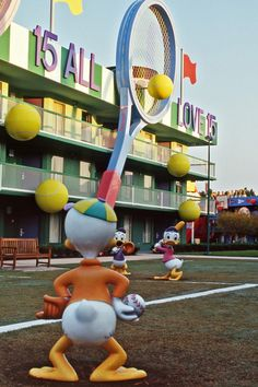 This week marks the halfway point for Major League Baseball, but baseball is always in full swing (yes, pun intended) with Huey, Dewey, and Louie over at Disney's All-Star Sports Resort.