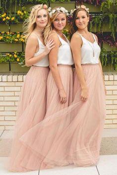 Fashion Blush Pink Bridesmaid Dresses,Tulle Bridesmaid Dress, Long Bridesmaid Dress,Cheap Bridesmaid Dress,Simple Bridesmaid Dress,Wedding Party Dress,Bridesmaid Dress,Hot Sale Bridesmaid Dress,