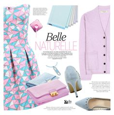 """Belle"" by mada-malureanu ❤ liked on Polyvore featuring мода, Burberry, Hermès, Sheinside, pastel и shein"