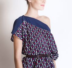 Michel Klein SS2013 Tunic Dress #ModeWalk #luxury #fashion #MichelKlein #tunic #dress #print