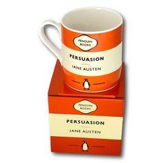 Penguin Classics, Cool Mugs, Porcelain Mugs, Penguin Books, Jane Austen, Book Design, Penguins, Tableware, Ebay