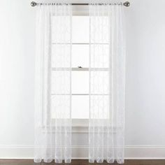 embroidered sheer white curtains - Google Search
