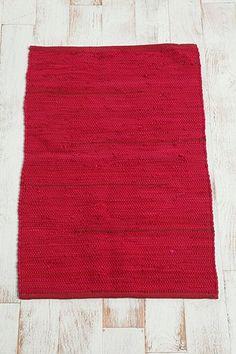 2x3 Solid Rag Rug
