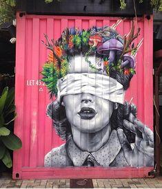 Artiste inconnu. #streetart #arturbain #graffiti