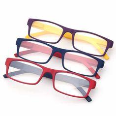 a2b101c2b63 Corbin. Unisex Leesbril in 3 prachtige uitgevoerde montuurkleuren  rood/blauw - blauw/rood