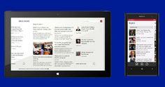 Bing lanza nuevas apps móviles - Todas las apps de Bing ahora sincronizan entre Windows 8 y Windows Phone