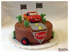 Torta Cars - Rayo McQueen
