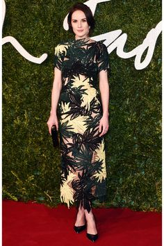 The Best Red Carpet Looks From The British Fashion Awards #refinery29  http://www.refinery29.com/2014/12/78806/british-fashion-awards-red-carpet-outfits#slide1  Michelle Dockery stunned in Erdem, and founder Erdem Moralioglu just so happened to win the Womenswear Designer of the Year Award.