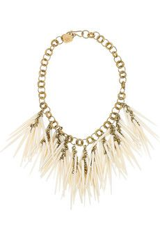 Ashley Pittman  Kumweka horn necklace