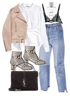 """""""Untitled #11260"""" by minimalmanhattan on Polyvore featuring philosophy, Vetements, H&M, L.K.Bennett, Acne Studios and Yves Saint Laurent"""
