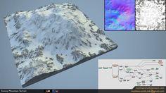 Snowy Mountain - World Machine | Matt Smith