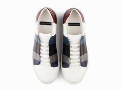Collezione A I 2018. Sneaker stringata multicolor uomo Massimo Melchiorri a7db184f551