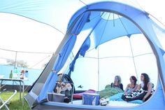 Great shoot with this unique teppee tent by Vango!!