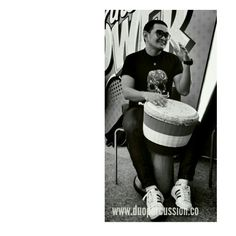 Djembe and me!