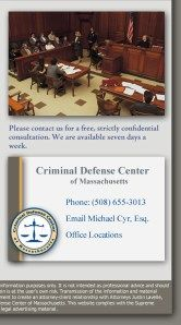 We defend many crimes against a person for our clients. Our teams of experienced Worcester criminal defense attorneys are willing to provide an initial consultation for free.