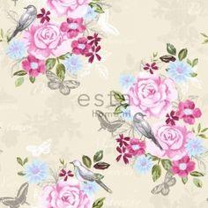Behang Esta Home Pretty Nostalgic 138119 bloemen