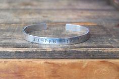 Jumper Hippie Aluminum Cuff