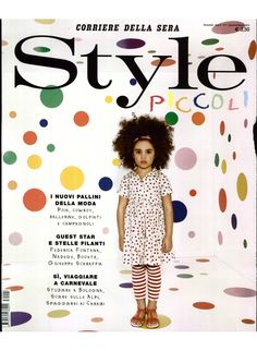 What they say about us: Style Piccoli.    The polka dots revolution: MiMiSol Contrast Collar Tulle Dress  #mimisol #dress #tulle #tulledress #contrastcollar #fashion #children #childrenswear #kidswear #stylepiccoli #style #clothing