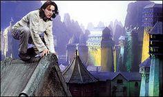 Jonathan Rhys Meyers plays Steerpike in Gormenghast - BBC adaptation of Mervyn Peake's book by the same name.