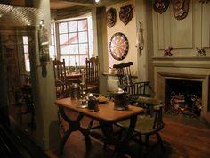 Henry Kupjack's miniature rooms - 18th century English Pub 1795