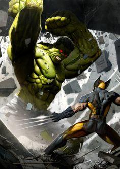 Wolverine Vs. Hulk | Ryan Brown