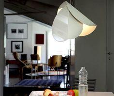Pendant lamp / original design / steel CHORDS by Teruhiro Yanagihara PALLUCCO