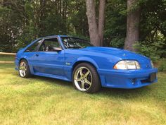 Car brand auctioned: Ford Mustang GT 1991 Car model ford mustang gt