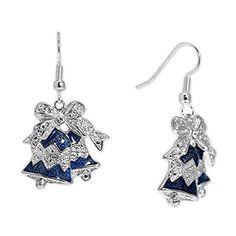 Swarovski Crystal Bell Earrings