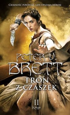 Poland has revealed the cover for Tron Z Czaszek, aka The Skull Throne. Tron Z Czaszek will be released later this year by publis. Fantasy Series, Fantasy Books, 2 Peter, Self Publishing, Book Art, Fairy Tales, Skull, Reading, Movie Posters