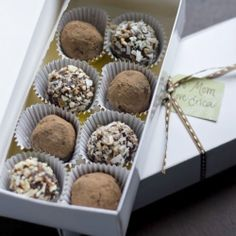#108834 - Almond Coconut Truffles By TasteSpotting