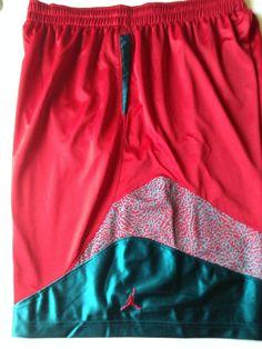 538b6b421fcca8 Nike Men s Air Jordan Son Of Mars Elephant Print Basketball Shorts Sz 3XL   Jordan