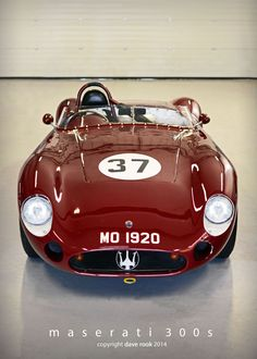 1957 Maserati 300S Maintenance/restoration of old/vintage vehicles: the material for new cogs/casters/gears/pads could be cast polyamide which I (Cast polyamide) can produce. My contact: tatjana.alic@windowslive.com