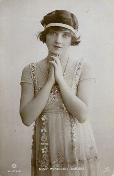 Winifred Barnes [1910s]
