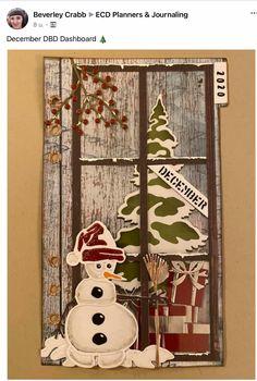 Elizabeth Craft Designs, December Daily, Planner Pages, Mini Books, Design Crafts, Mini Albums, Ladder Decor, Junk Journal, Bullet Journal
