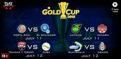 Get the best Soccer CONCACAF Gold Cup outright odds online at Playdoit.com
