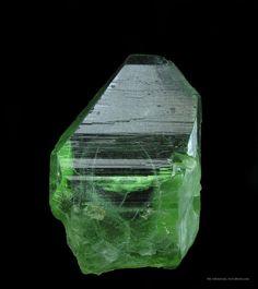 Peridot with Ludwigite inclusions from Maran-Kagan Valley, Pakistan [http://img.irocks.com/2014-updates/OB14C/ob14c29b-herb-obodda-fine-mine...