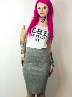 Punk Rock Fashion, Rock Style, Girl Tattoos, Hard Candy, Skirts, Ideas, Best Tattoo Ever, S Tattoo, Pictures