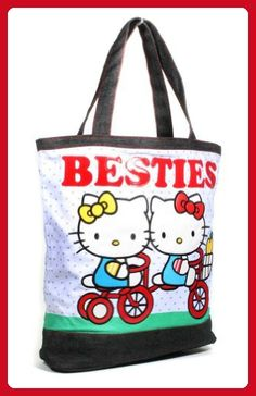 4eb42c684 Polka Dot Hello Kitty Besties Tote Bag By Loungefly - Shoulder bags  (*Amazon Partner