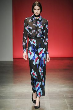 Tocca. Autumn Winter 2014/15 NYFW