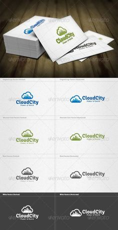 Buy Cloud City Logo by femo on GraphicRiver. Cloud City Logo is a designed for Any types of companies. It is made by simple shapes Although looks very professiona. Real Estate Logo Design, Best Logo Design, Graphic Design, Building Logo, City Logo, Cloud City, Information Graphics, Simple Shapes, Logo Templates
