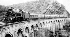 The Indian Railways Fan Club Photo Gallery - frontier_mail_xc_dara_pass. Independence Images, India Independence, Indian Railway Train, Union Territory, Nostalgic Images, Vintage India, Incredible India, World History, Heritage Site