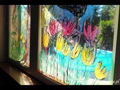 Zabawy dla dzieci w domu, kreatywne dzieci, zabawy dla 2-3 latków, zabawy dla 4-5 latków, moje dzieci kreatywnie, kreatywnie w domu, zabawy w przedszkolu. Creative Kids, Flower Crafts, Preschool Crafts, Cool Kids, Cute Animals, Flowers, Fun, Painting, Pretty Animals