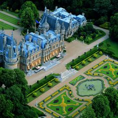 Waddesdon Manor......a French chateau in the middle of England.