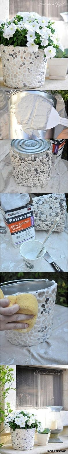 Could make a seashell pot