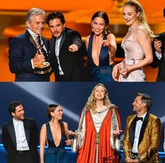 Cast of Game of Thrones (Emmy Awards, Game Of Thrones Cast, A Dance With Dragons, Sansa Stark, Emilia Clarke, Lancaster, Awards, Tv Shows, It Cast, Kit Harington