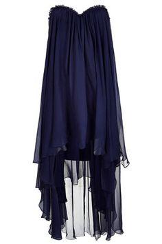 **LIMITED EDITION Dip Hem Bandeau Dress