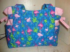 Pink Flamingo Handmade Purse/Tote/Handbag!