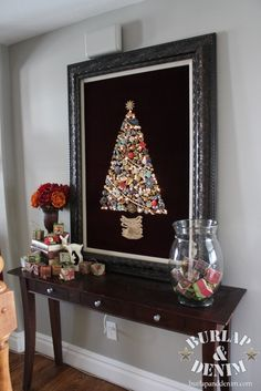 Vintage Jewelry Christmas Tree